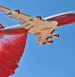 CalFire Moves Super Tanker To McClellan To Aid Wild Fire Troops!