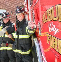 Auburn's New Fire Chief Focuses on Prevention!
