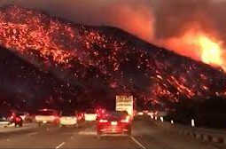 Carr Wild Fire Enters the City Of Reading, CA!