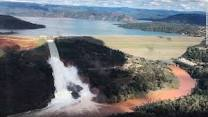 Water Levels Dropped At Oroville!