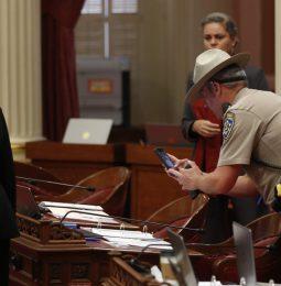 Vile Thrown In Senate Tests Real Human Blood!