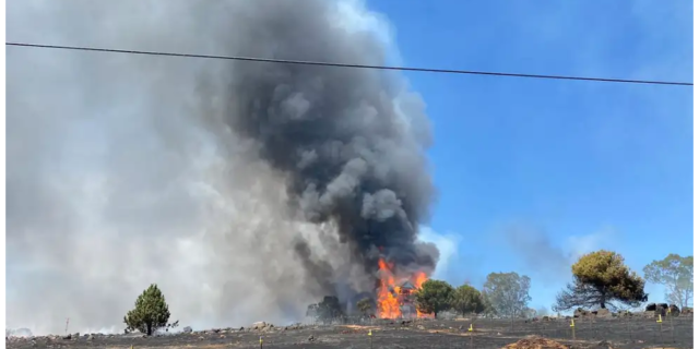 Another Wildfire, In El Dorado County, Sheriff Issuing Evacuations!